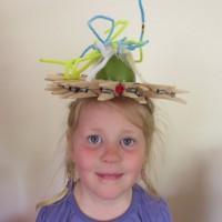 Hannah's Scarecrow Hat